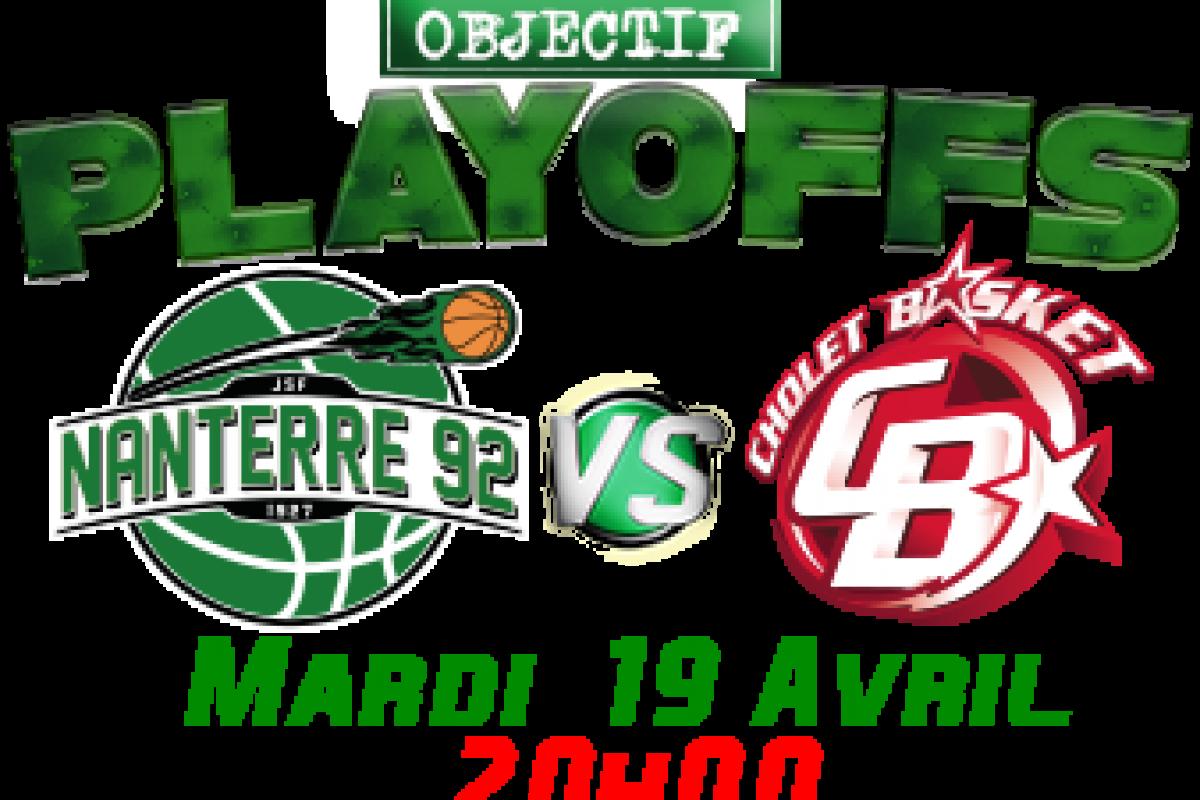 La visite du soir: Nanterre 92 – Cholet Basket