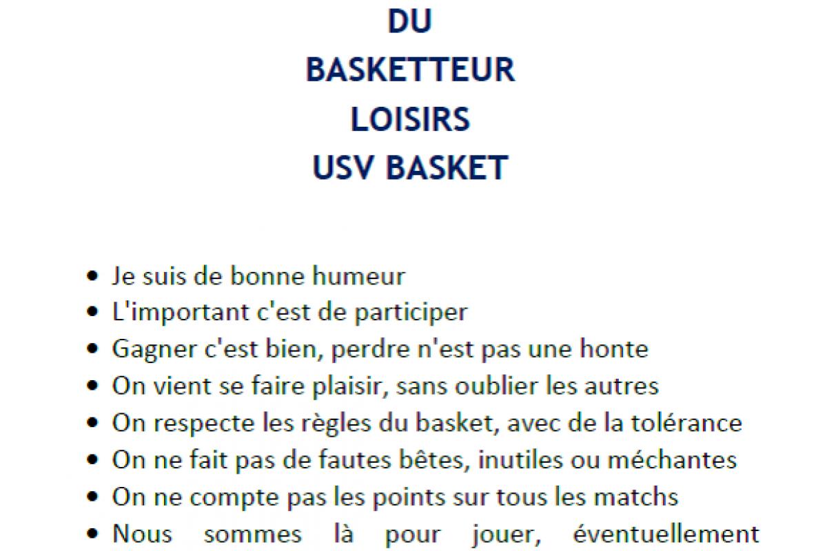 Basket Loisir à Matalou