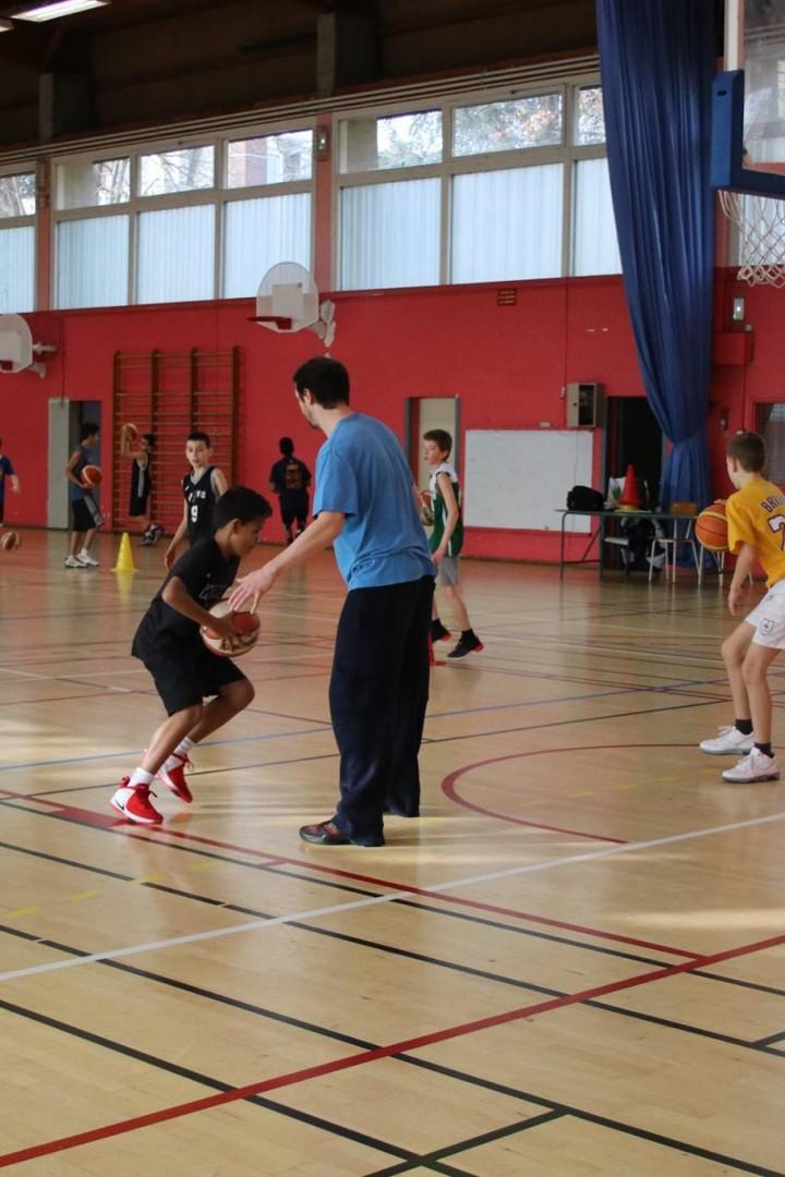 Stage Basket du 3 au 7 Avril