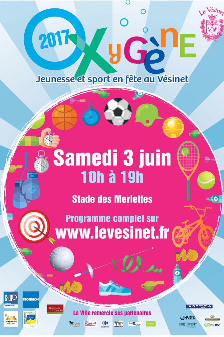 Oxygène au stade des Merlettes le 3 Juin, venez promouvoir le Basket