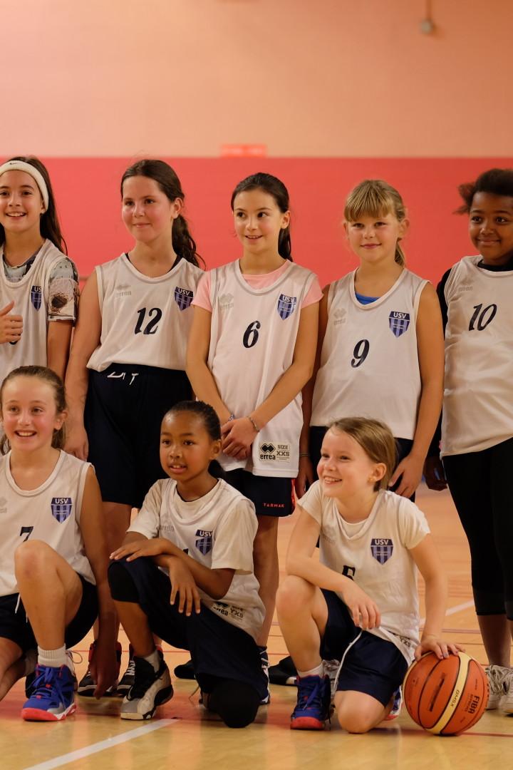 On continue de développer le basket pour les filles