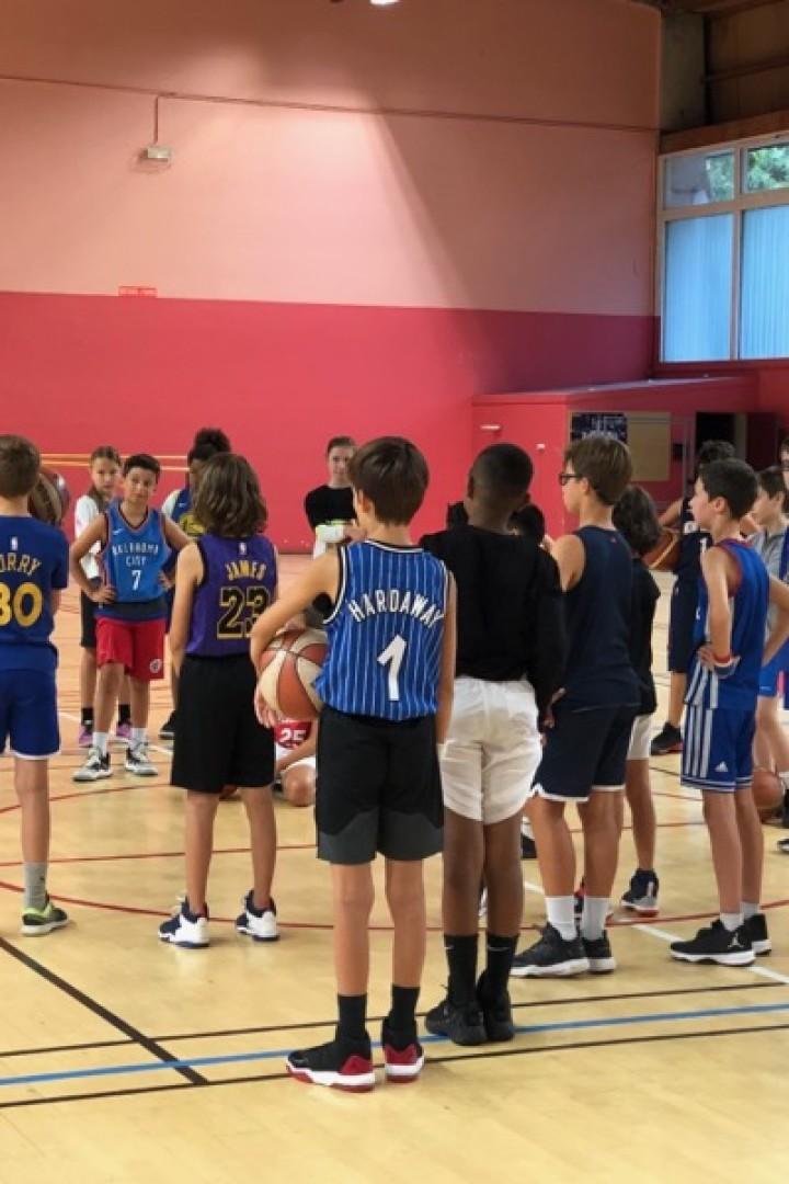 Stage de Basket de la Toussaint du 19 au 23 Octobre