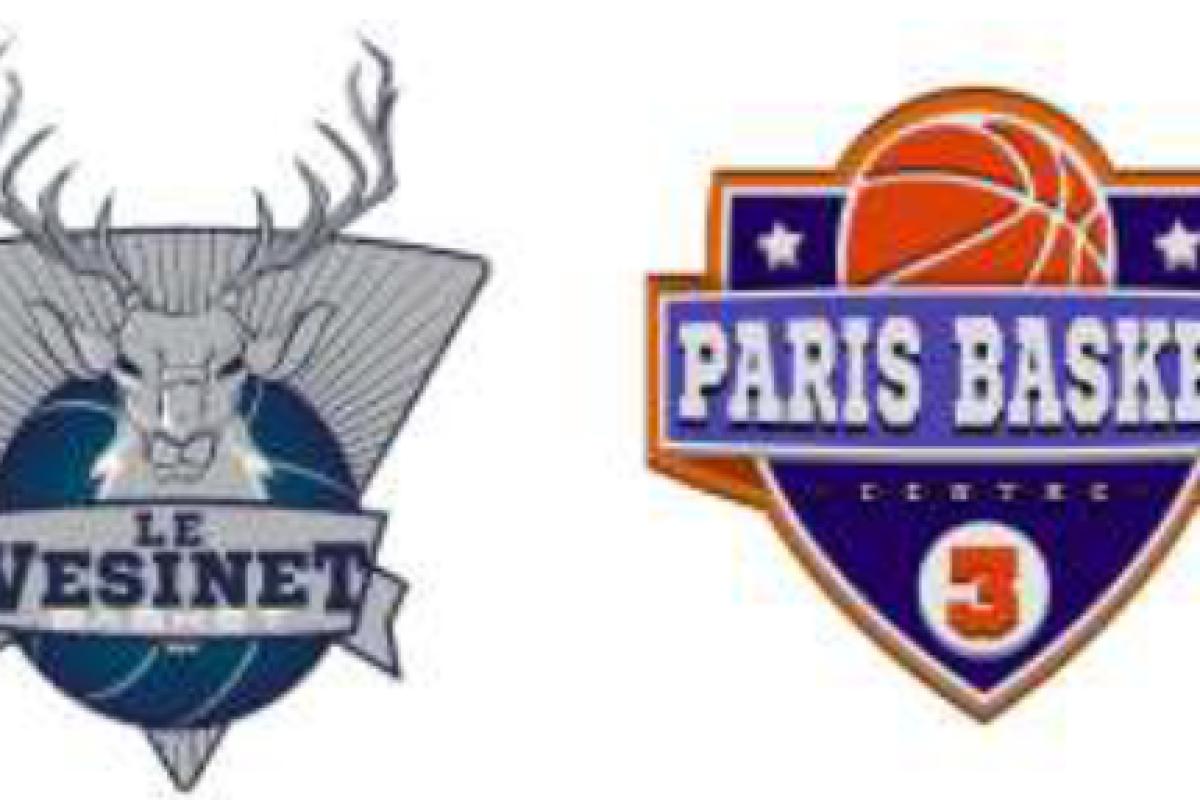 Les Cerfs du Vésinet reçoivent le Paris Basket Centre 3 Samedi soir